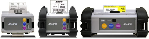 MBi series mobile printers